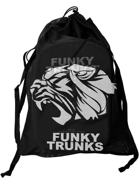 Funky Trunks Mesh Gear Bag Droog- & Transportzakken Heren zwart